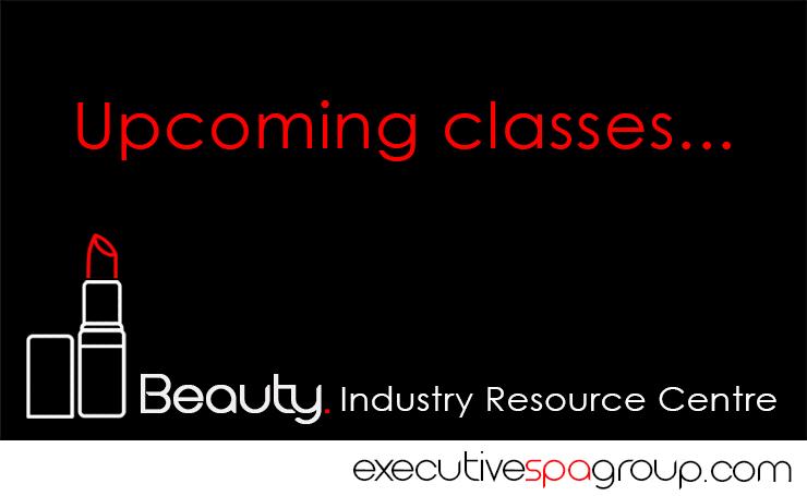upcoming esthetics training courses