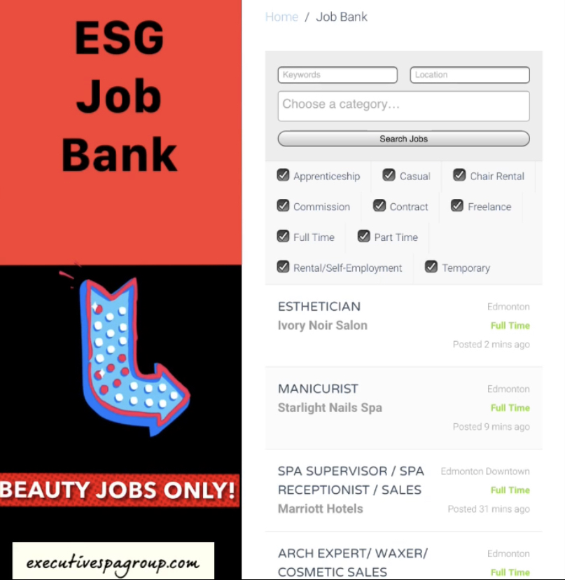 Employment Archives - Executive Spa Group